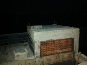 bagian atas dapur, tempat torn air
